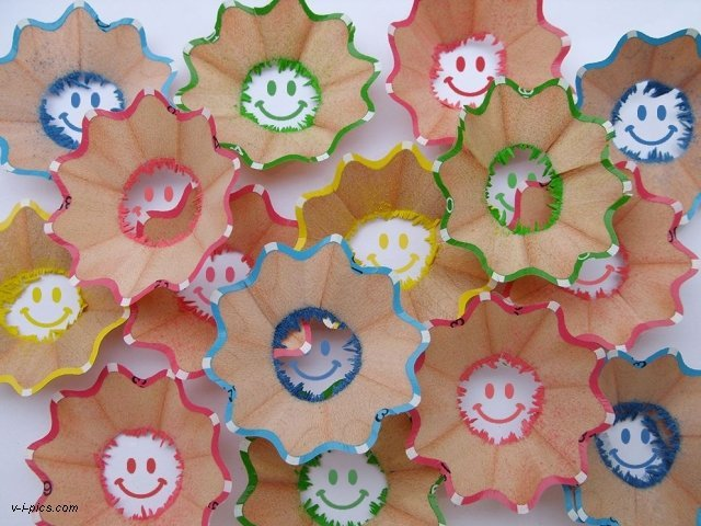 Smilies Farbenfroh