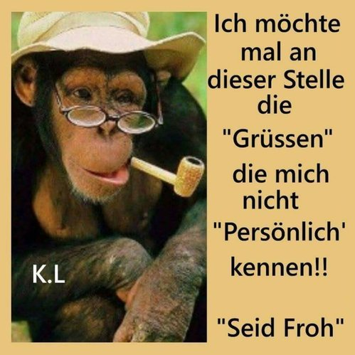 Liebe Grüße an alle Unbekannten - lustich.de